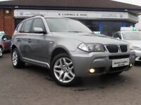 BMW X3 D M SPORT 150BHP 6 Speed Manual 4x4 (grey) 2007