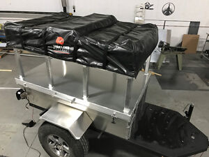 Overland Roof Top Tent ready trailers offroad