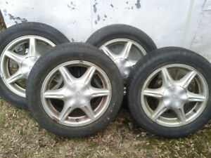 rims and tires 4 x 225 50 r16