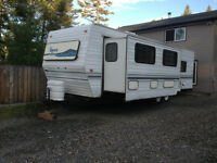 30' travel trailer, very clean,