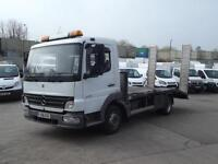 MERCEDES-BENZ ATEGO 815 BEAVER TAIL PLANT CARRIER CAR TRANSPORTER 7.5 T DAY CAB