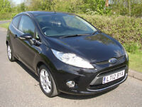 2012 Ford Fiesta 1.4 96ps Zetec, ONLY 32,805 MILES, *SALE NOW ON*