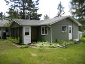 Clear Lake cabin for rent, Riding Mountain National Park