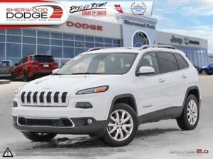 2014 Jeep Cherokee Limited  HEATED LEATHER SEATS/WHEEL | REMOTE