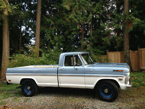 1969 F250 ford truck 360 engine I believe