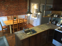 Charming fully furnished 2 bed century home downtown w parking
