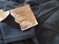Ikea Klippan sofa cover - denim blue