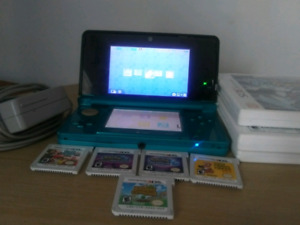 3ds perfect condion 5 games