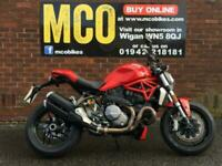 Ducati Monster M1200 1000 miles only