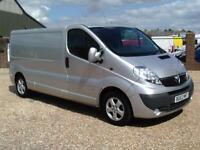Vauxhall Vivaro 2.0CDTi LWB SPORTIVE 115PS 6SPEED 2012 REG