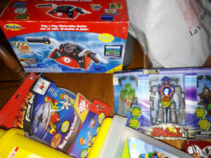 NEW   LEGO, Transformers, Motocycle Race Game, Robots