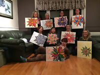Step-by-Step Painting pARTies