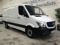 2014 64 Mercedes-Benz Sprinter 313CDI MWB standard roof with air con