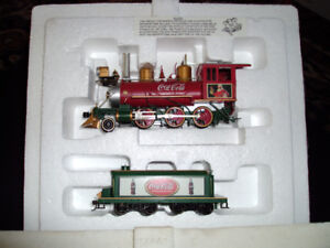 "COCA-COLA Holiday Express"" Train Collection"