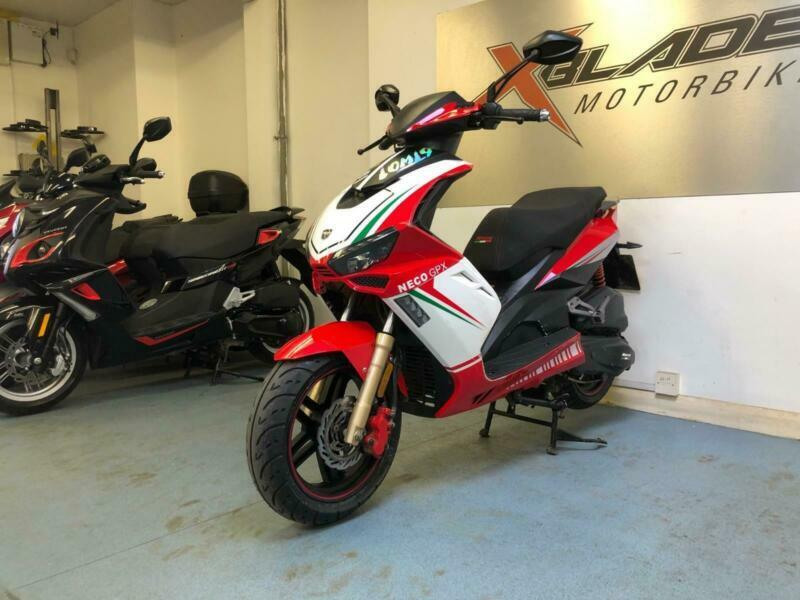 Neco GPX 125cc Automatic Scooter, 2018, 1 Owner, Fair Condition, used for sale  Wimbledon, Morden