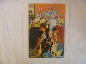 BLACK AXE by Marvel Comics (UK Editions)
