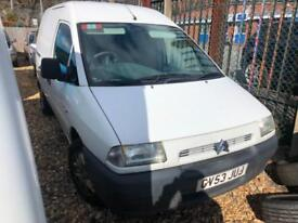 2003 Citroen Dispatch 2.0HDi COMPLETE WITH M.O.T AND WARRANTY