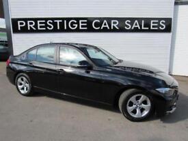 2014 BMW 3 Series 2.0 320d EfficientDynamics BluePerformance 4dr Diesel black Ma