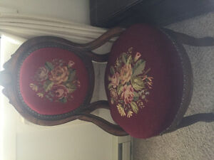 Antique chair late 1700
