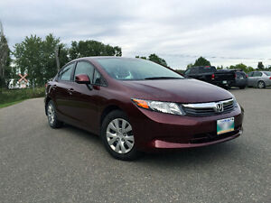 2012 Honda Civic LX Sedan