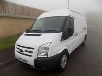 FORD TRANSIT 350 LWB SEMI HIGH ROOF 2.2 RWD 140 BHP 6 SPEED 2012 62