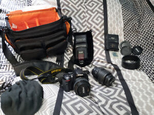 Nikon D5100 and accessories