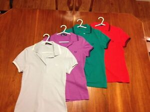 Women's Fred Perry twin tipped polos and Harrington jacket