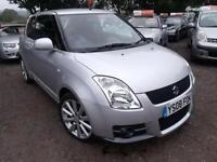 2008 Suzuki Swift 1.6 VVT Sport 3dr 3 door Hatchback
