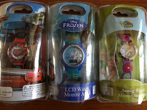 New! Disney Faries or Olaf Frozen watches Just reduced! Kitchener / Waterloo Kitchener Area image 1