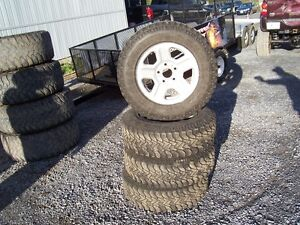 Car,Truck and Suv winter wheels and tires new and used.