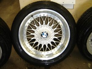 17 x 8 BMW Rims With 235/45/17 Tires