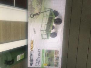 Lawn tractor wagon gorilla cart brand new