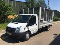2010 Ford TRANSIT 100 T350L RWD Cage Dropside Truck with Tail Lift Manual Dropsi