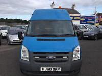 2010 FORD TRANSIT 140 T350L RWD BLUE