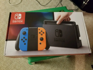 Nintendo Switch (red blue)  - New (on hold)
