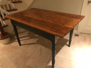 Authentic Antique Harvest Table