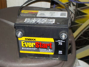 Car battery (almost new)