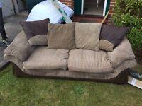2 large sofas