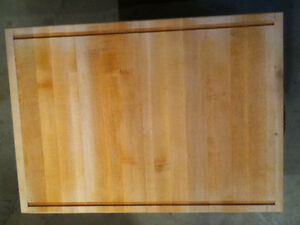 4cm Cutting Board Solid Maple Kitchener / Waterloo Kitchener Area image 1