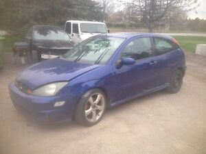 PARTING OUT :2002 SVT Ford Focus (sonic blue) London Ontario image 2