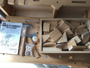 "Lakeshore Toys ""Do-It-Yourself Woodworking Kit"""