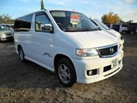 MAZDA BONGO AERO CITY RUNNER, 2003, 2.0, PETROL, 60,300 MILES AUTOMATIC IN WHITE