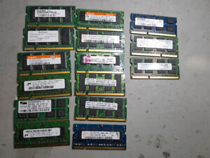 DDR2 800Mhz PC2-6400 4GB laptop memory,$30 each,$55 for 2 pieces