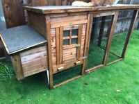 Chicken house/run and brooder