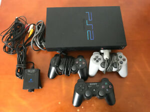 PS2/PlayStation 2 With 2-3 Controllers And EyeToy