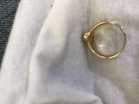 Found: Gold coloured ring