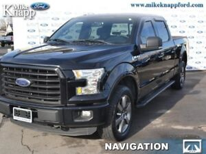 2016 Ford F-150 XLT  Heated Seats, Nav, Rear View Camera