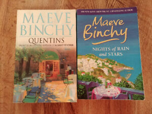 Maeve Binchy books $5 each or $8 for all