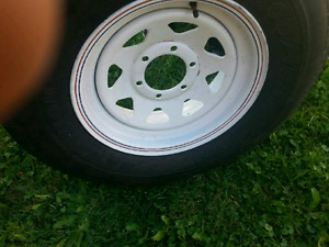 Tire for fifthwheel,or trailer