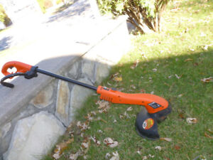 Trimmer/Edger for grass and lawn edges